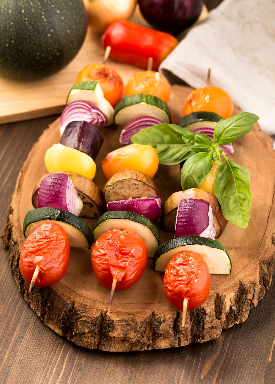 Recipe: Vegetable Kebabs
