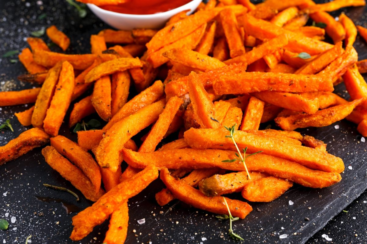 Recipe: Sweet Potato Fries