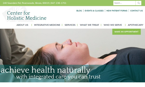 Center for Holistic Medicine website
